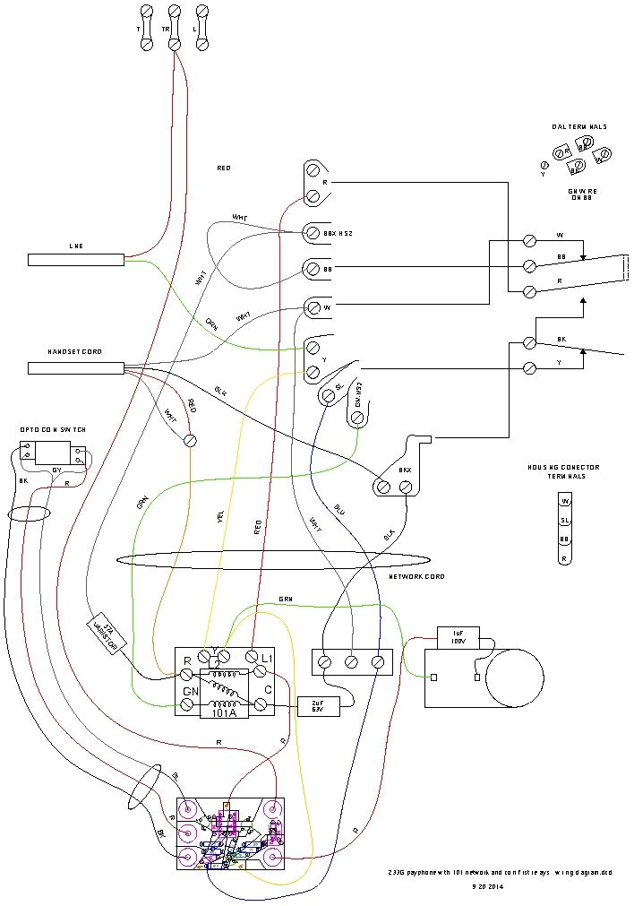 Rotary Payphone Wiring Diagram